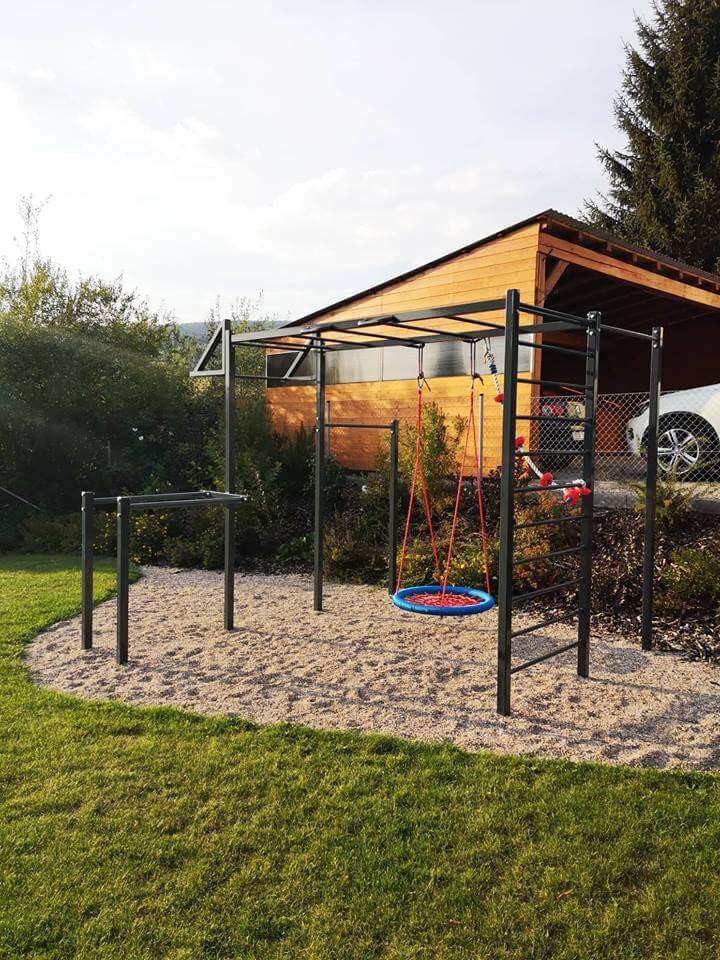 workoutove hriste - outdoor posilovani